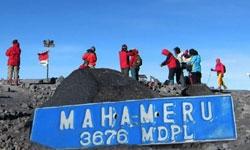 summit-semeru