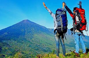 Soft trek at Pergangsingan hill